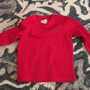Red Ralph Lauren Baby Boy Shirt